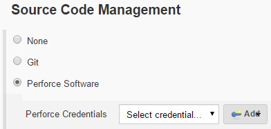 Add credentials